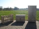 babykamer van steigerhout