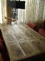 vakken tafel steigerhout