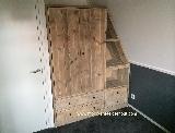 kast van steigerhout