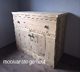 commode van steigerhout
