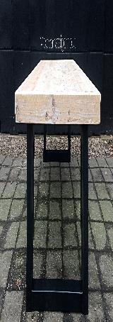 tafel steigerhout + staal