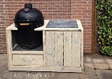 big green egg tafel steigerhout