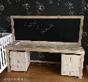 schoolbord steigerhout