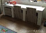 speeltafel van steigerhout wit