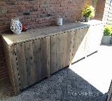 dressoir van steigerhout