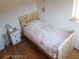 1 persoons bed van steigerhout