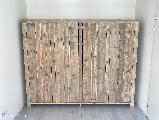 Kleding kast van steigerhout