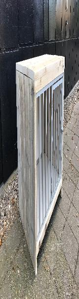 bench van steigerhout