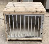 kamerkennel / bench van steigerhout