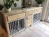 Bench dressoir van steigerhout.