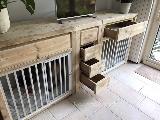 Bench meubel van steigerhout.