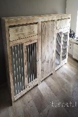 bench meubel steigerhout