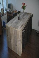 tafel steigerhout blokzijkanten