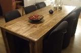 tafel steigerhout 4 poten + naturel lak