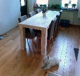 tafel steigerhout 4 poten